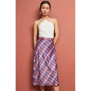 New Anthropologie Midi Skirt by Hutch   Size 6